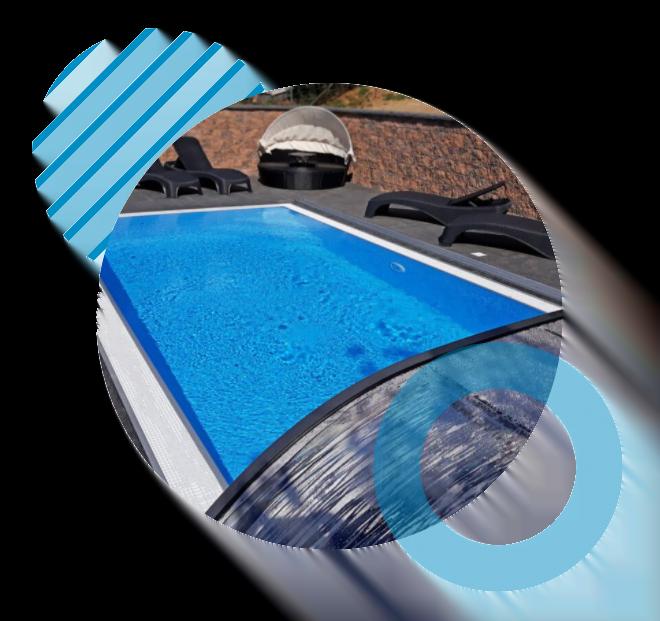 Bazény, zastrešenia bazénov, vírivky Jacuzzi - Bratislava, Trenčín, Košice